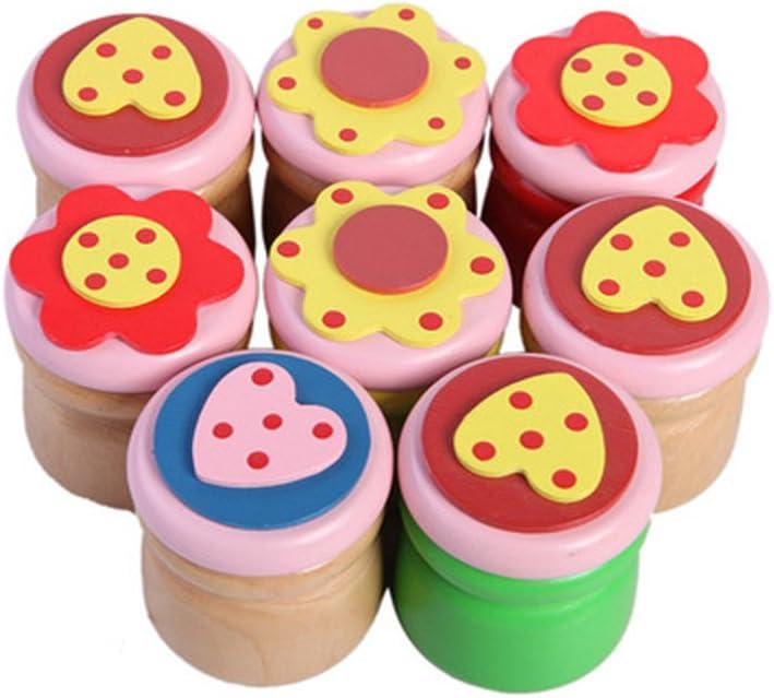 5,5 x 4,2 cm Niedliche Kinder Milch Zahn Holzdose Milchzahndose Aufbewahrungsbox f/ür Junge und M/ädchen