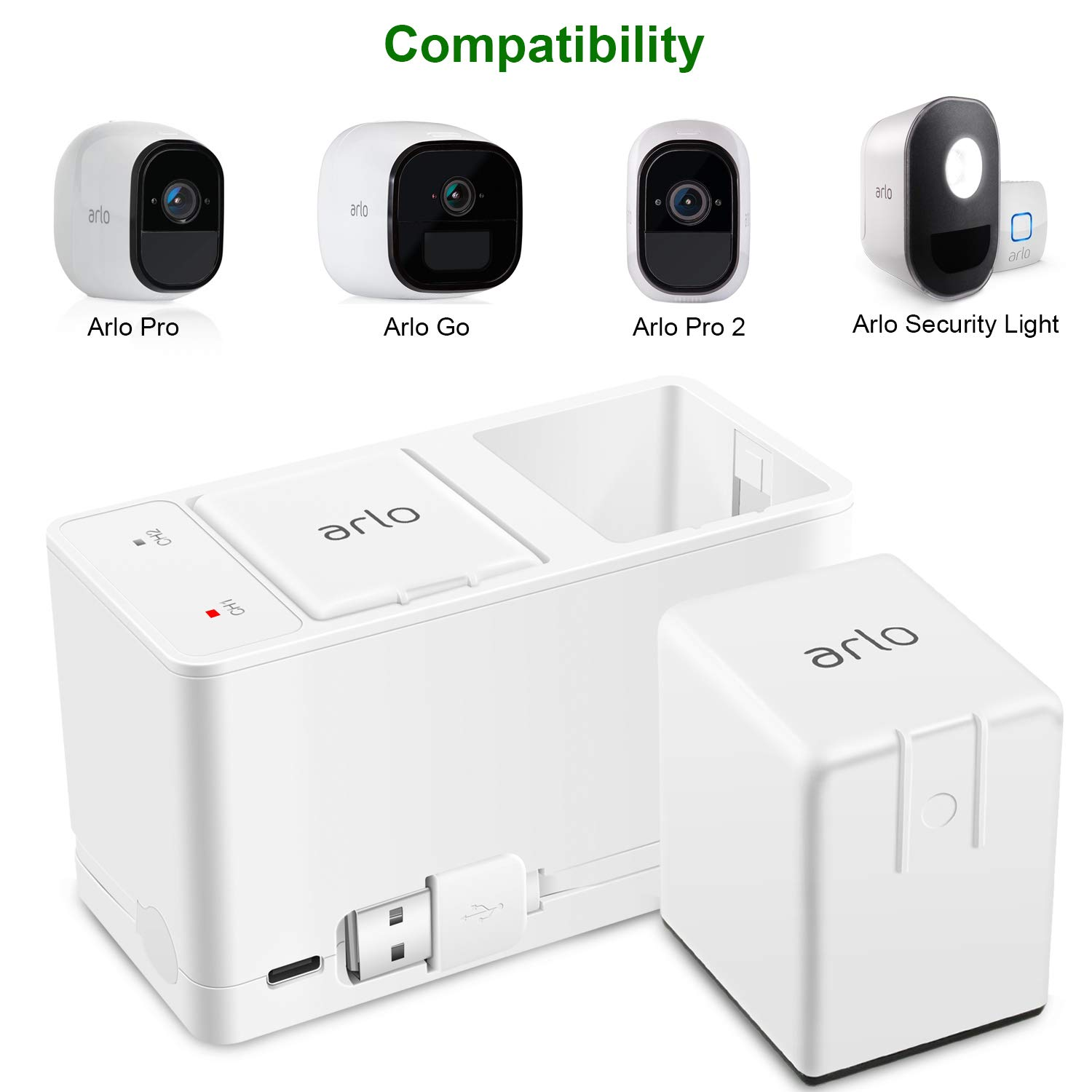 Arlo Accessory Rechargeable Battery Compatible With