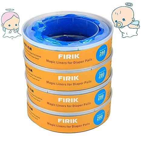 FIRIK Recambios para el contenedor de pañales y casetes de ...