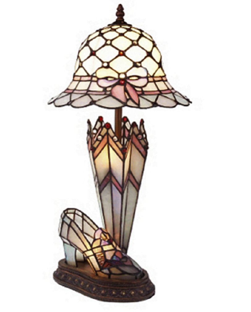 Tiffany Style Handcrafted Hat, Shoe U0026 Umbrella Table Lamp: Amazon.co.uk:  Lighting