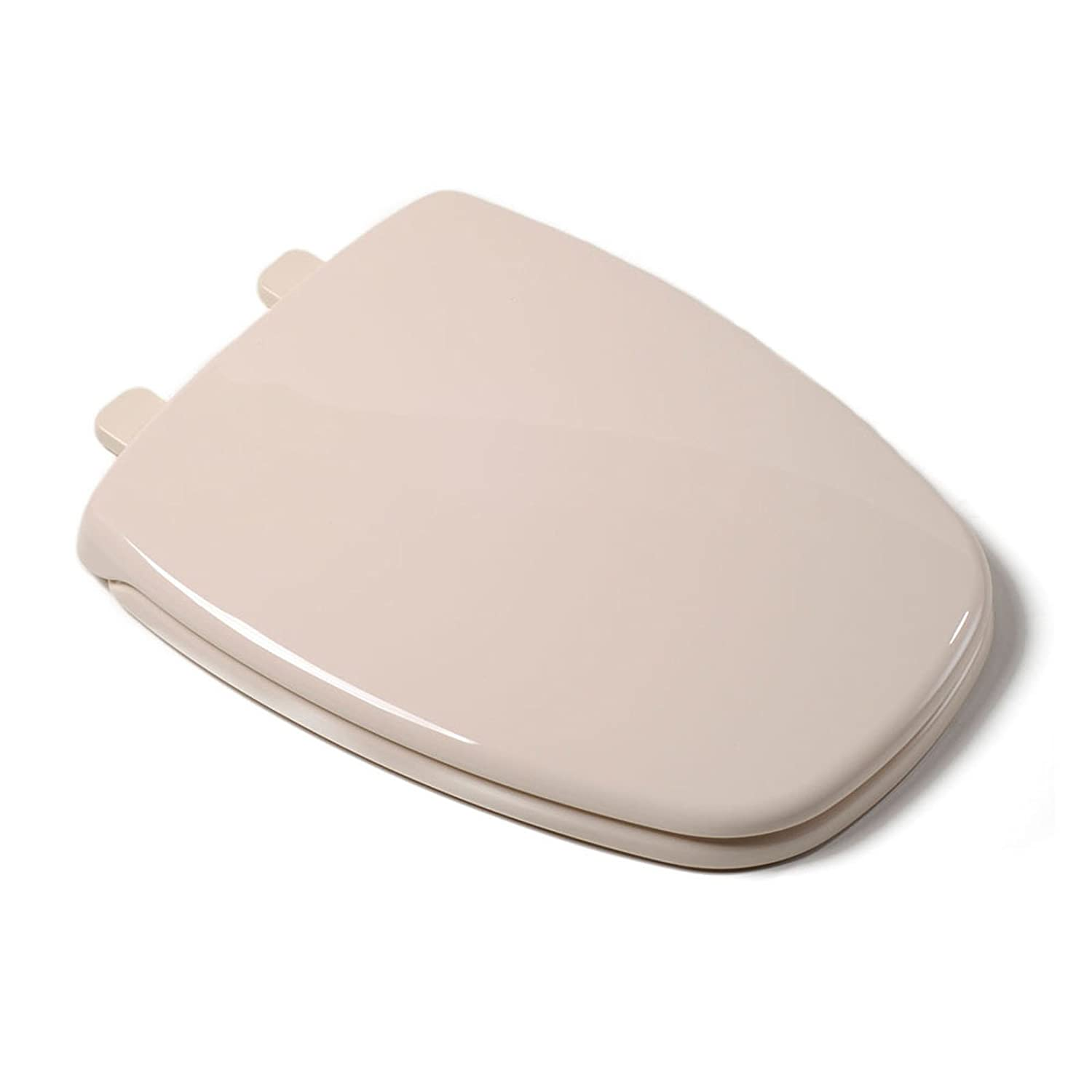 Delightful Comfort Seats C1050S01 Plastic Ez Close Elongated Square Front With Cover   Toilet  Seats   Amazon.com