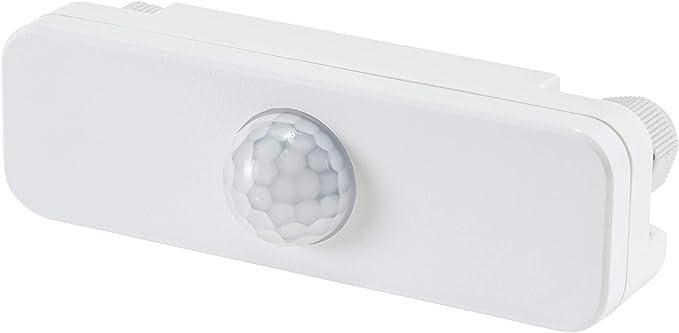 Sensor de movimiento exterior IR Slim IP65 120° con sensor crepuscular 230 V – LED adecuado: Amazon.es: Iluminación
