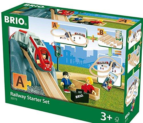 Brio Stop - BRIO Railway Starter Set Train Set