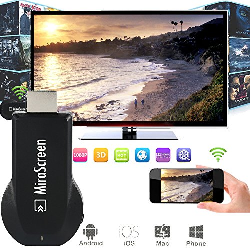 MiraScreen OTA TV Stick Dongle Chromecast Wi-Fi Display Receiver DLNA Airplay Miracast Airmirroring Google Chromecast