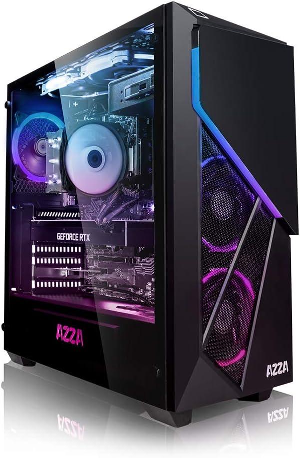 PC Gaming - Megaport Ordenador PC Intel Core i7-10700F 8X 2.90GHz • GeForce RTX 2060 6GB • 16 GB