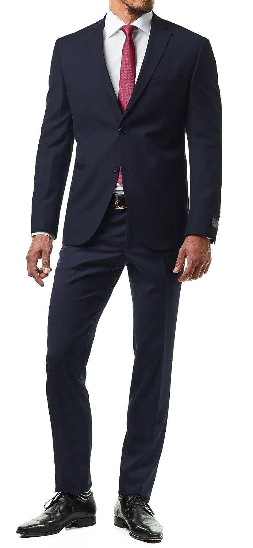 sports shoes edb90 ed1bd Dunkelblau Paco Romano Herren Anzug Jacket Sakko Hose ...