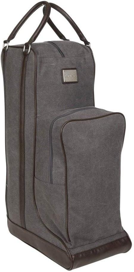 LeMieux - Bolsa de lona para botas (lona), color gris