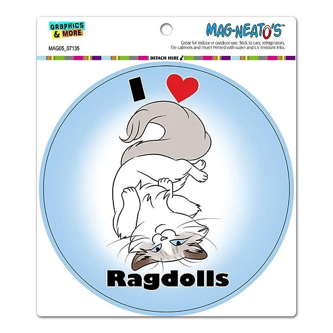 i heart love ragdolls ragdoll cat cute pet circle mag neato s tm