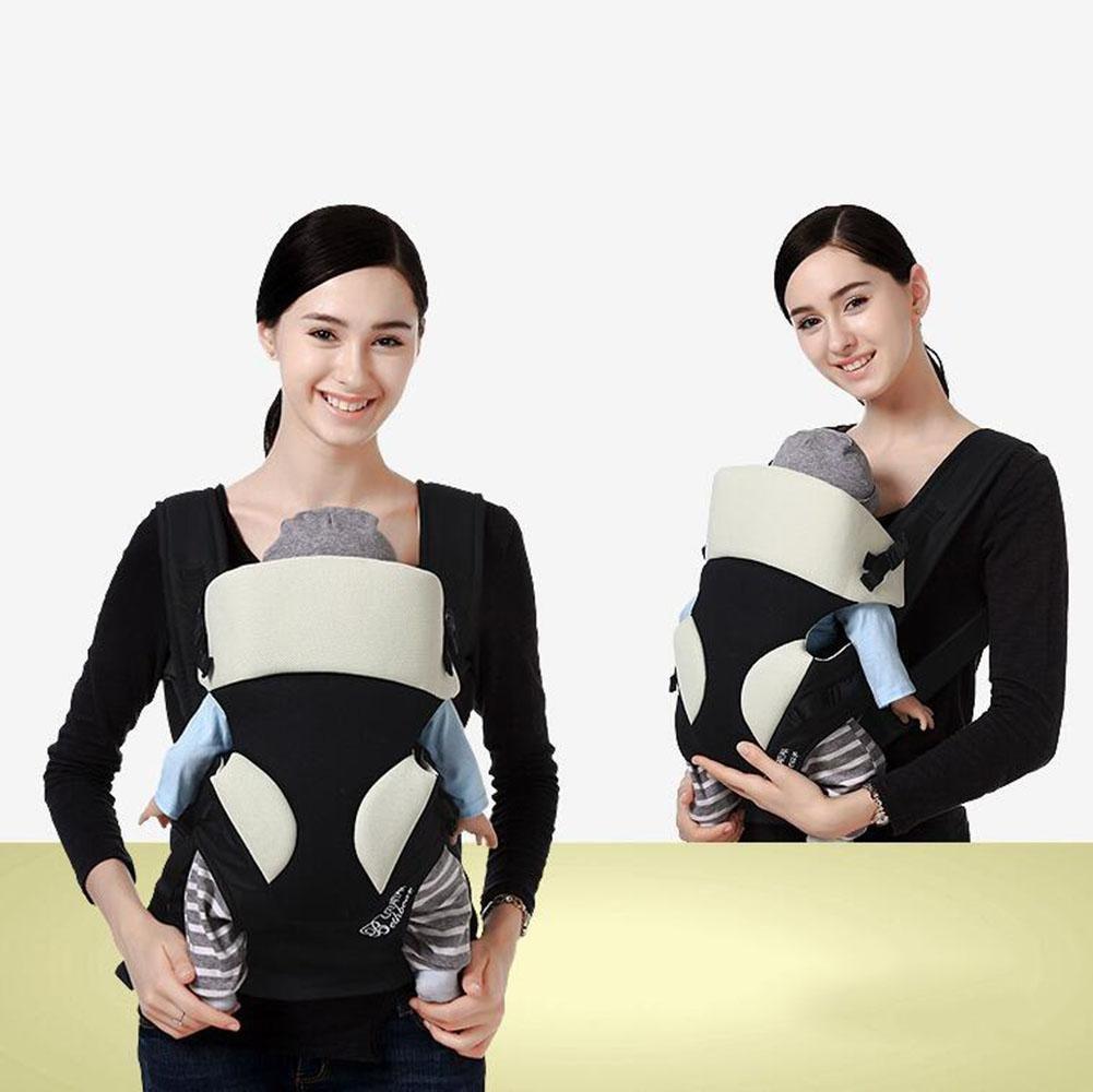 1ce4eb6cd7b1 FJY Porte-bébé Ventral Dorsal Ergonomique Tissu Respirant pour Porter Bébé  Multifonctionnel avec Bavoir-3 Positions de Transport , Beige  Amazon.fr   Sports ...