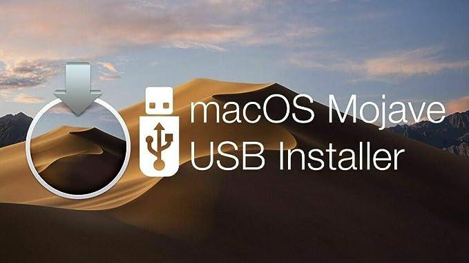 MacOS MOJAVE 10.14 Bootable USB Installation install Instalador De ...