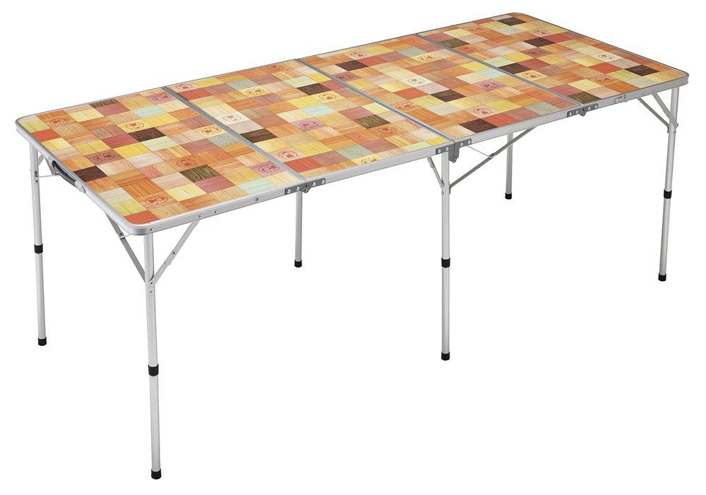 コールマン ナチュラルモザイクリビングテーブル 180プラス