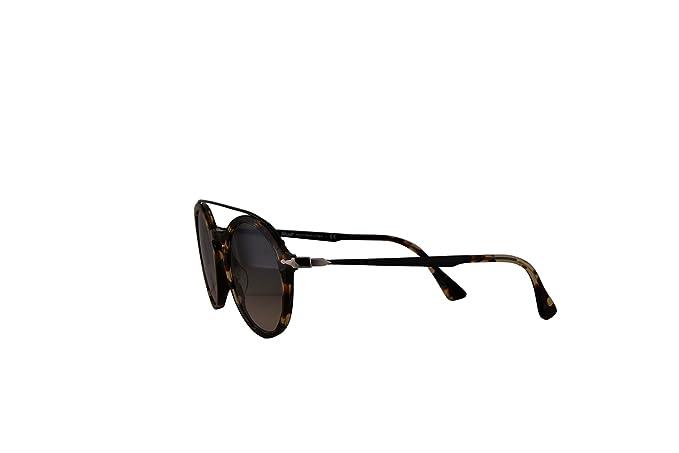 7a90472f57eb3 Persol PO3172S Calligrapher Edition Sunglasses Beige Brown Havana w Grey  Gradient Brown Lens 51mm 105732 PO 3172-S PO3172-S PO 3172S  Amazon.ca   Clothing   ...