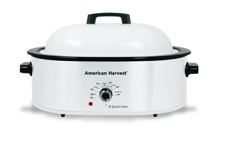 Nesco American Harvest NRO-14 Roaster, 18 Quart, White