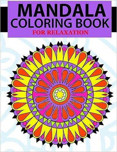 Amazon Com Mandala Coloring Book Mandala Coloring Book Zentangle