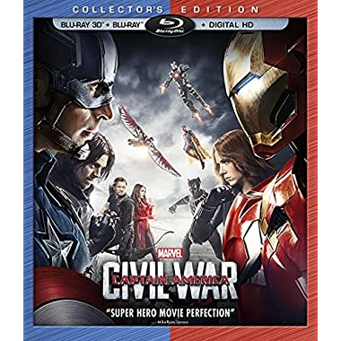 Marvel's Captain America: Civil War (3D BD+BD+Digital HD) [Blu-ray]