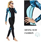 Full Body Scuba Rash Guard Lycra Dive Skin UV