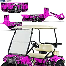 Club Car Golf Cart 1983-2014 Graphic Kit Decal Sticker Wrap Accessories Parts REAPER PINK