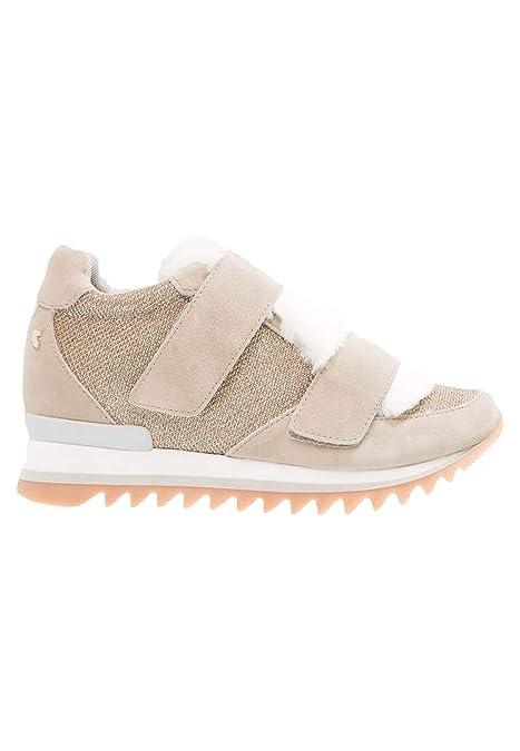 GIOSEPPO zapatos bajos de las zapatillas de deporte de las mujeres 41068 BEIGE: Amazon.es: Zapatos y complementos