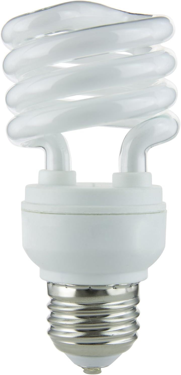 Sunlite SMS23//65K 23-watt Medium Base Super Mini Spiral Energy Saving CFL Light Bulb Daylight Sunshine Lighting