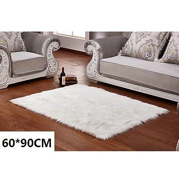 Amazon De Lange Haar Creme Kunstfell Pelz Stil Teppich Stuhl Sofa
