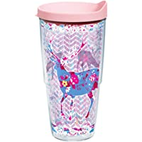 Tervis Trendy Deer Tumbler with Travel Lid 24 oz Clear