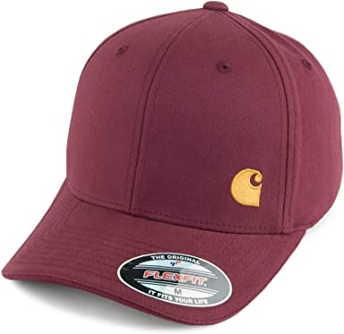 Carhartt WIP Sombreros Gorra de béisbol Flexfit Match – Vino Rojo ...