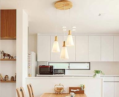 Kronleuchter Rund Holz ~ Modern einfach kreativ pendelleuchte esszimmer lampe hängeleuchte