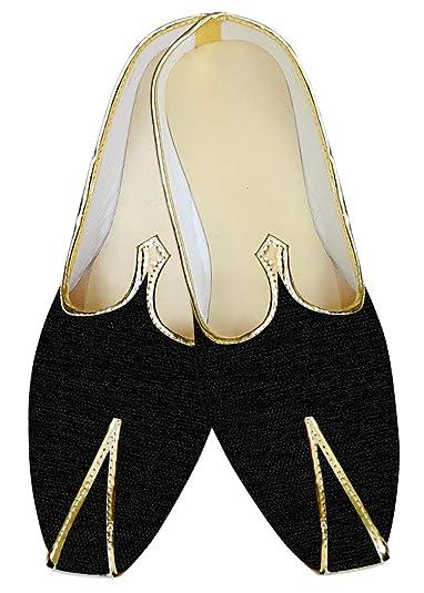 Mens Black Wedding Shoes Hand Made MJ012638