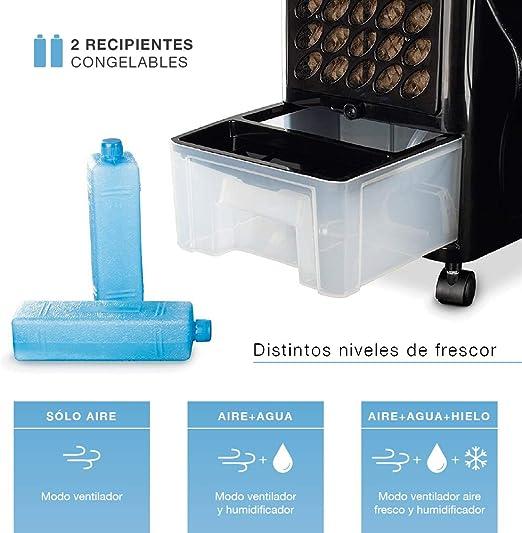 Newteck - Climatizador Evaporativo Portátil Wind Pure: Refresca ...