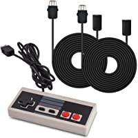 AGPtek® Controller Gamepad and 2pc*9.84Ft Extension Cables For Nintendo Mini NES Classic Edition