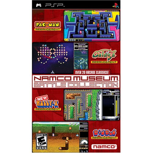 Arcade Collection (Namco Museum Battle Collection - Sony PSP)