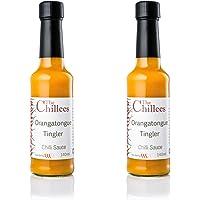The Chillees Salsa picante Frisson Orangatongue 2X140 ml