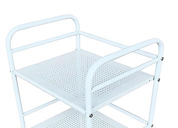 Avanti Trendstore - Origlio - Carro con Ruedas de Metal, Diferentes, Ca. 39 x 74 x 32 cm Bianco: Amazon.es: Bebé