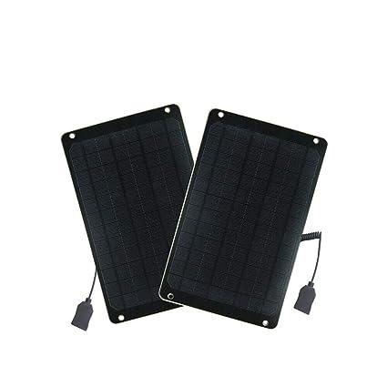 Amazon.com: flexsolar 2-Pack 6 W – Cargador solar portátil ...