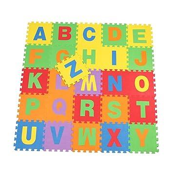 Bebe Kids 26 Pcs Anglais Motif Lettres De L Alphabet En Mousse Eva