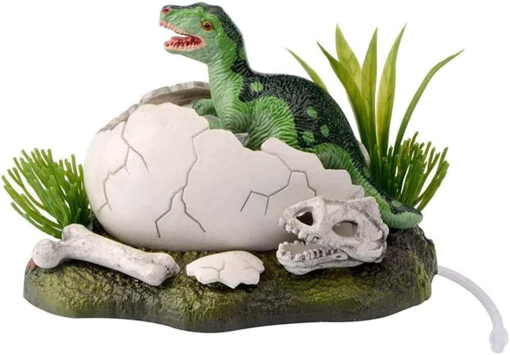 AVOICE Aquarium Ornaments - New Born Baby Dinosaur Live Action Safe for Freshwater and Saltwater Tanks