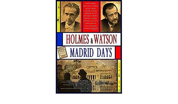Amazon.com: Holmes & Watson: Madrid Days (2012) (Holmes and Watson. Madrid Days)  [ Blu-Ray, Reg.A/B/C Import - Spain ]: Víctor Clavijo, Enrique Villén, ...