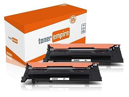 2 Toner compatible con Samsung CLT-K404S/ELS Negro para ...