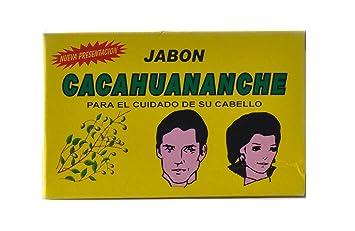 Jabon Cacahuananche Soap / Jabon De Cacahuananche Para La Caida De Pelo