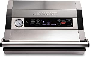 NEW Avid Armor Vacuum Sealer A420 - Locking Lid, Roll Bag Storage with Cutter 12
