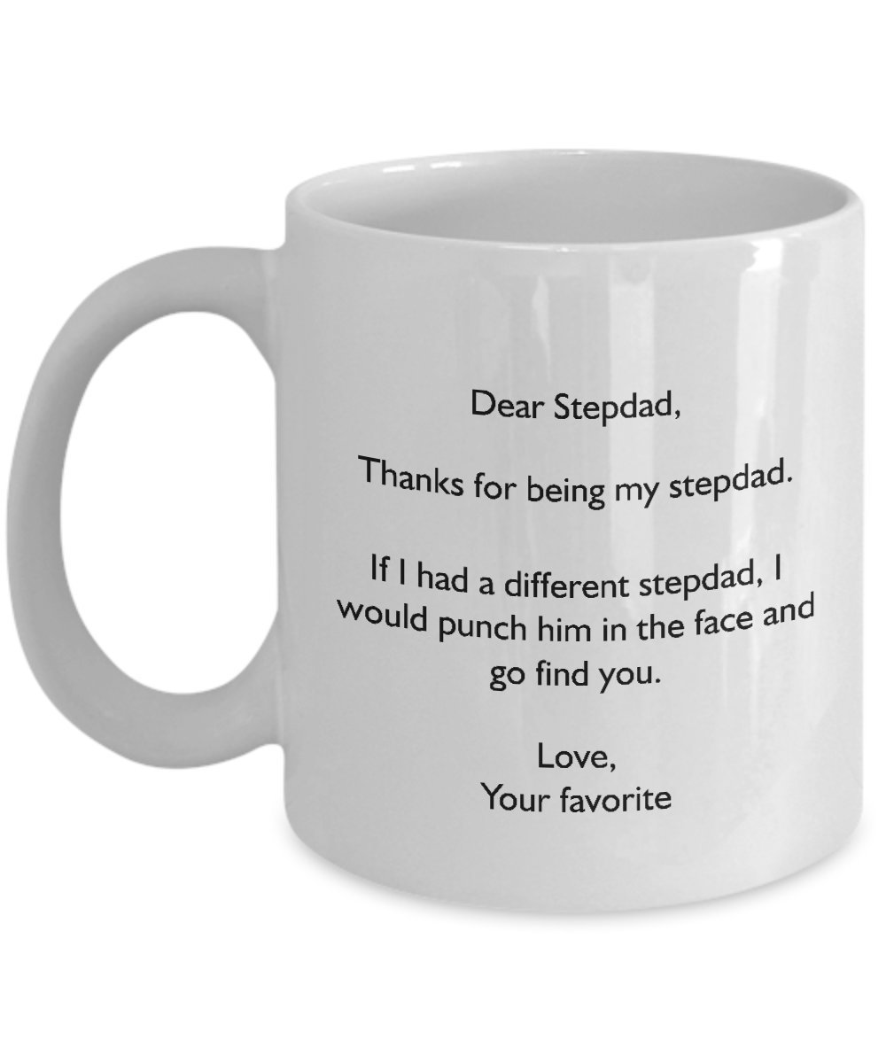Amazon Funny Gift For Stepfather