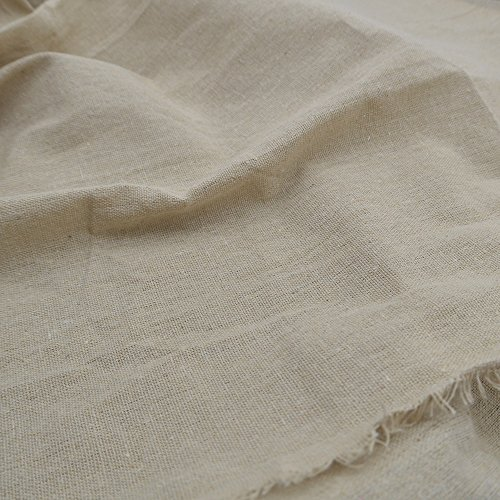 Linen Cross Stitch Fabric (iNee Natural Linen Fabric for Needle Embroidery, Embroidery Fabric 20