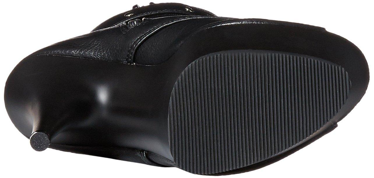 Pleaser Women's DEL1033/Bpu/M Boot B00XLDG2U0 11 B(M) US|Black Faux Leather/Black Matte