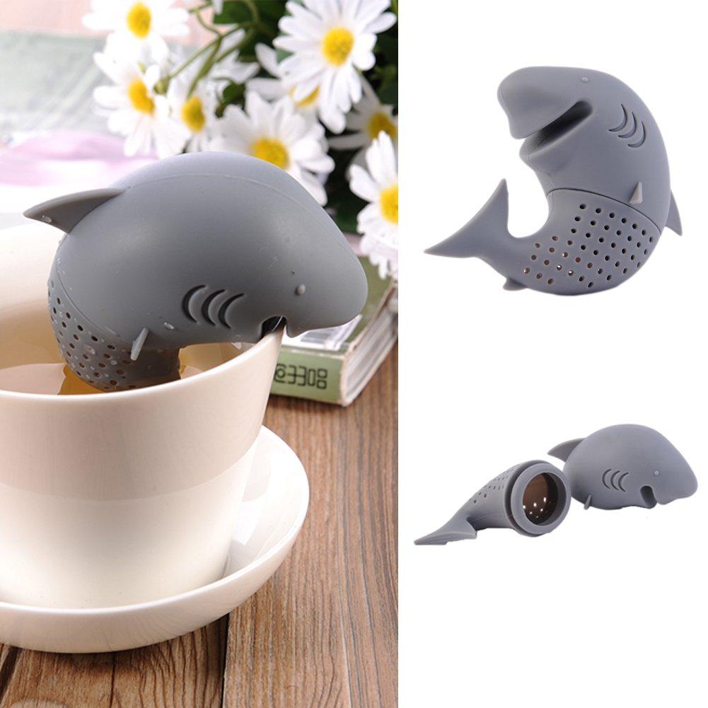 Hjuns® Mignon filtre à thé en forme de dinosaure sous-marin en silicone de haute qualité