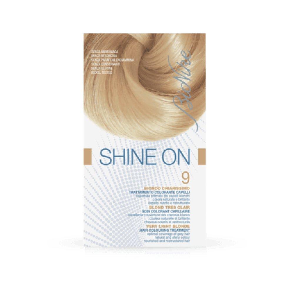 Bionike - Trattamento colorante capelli shine on biondo chiarissimo 9 125 ml