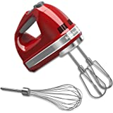 KitchenAid KHM7210ER 7-Speed Hand Mixer, Empire Red