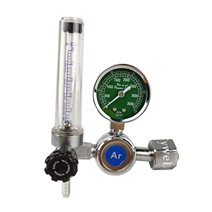 Argon Regulator 0-25 Mpa Argon CO2 Helium Nitrogen G5/8 entrada MIG/