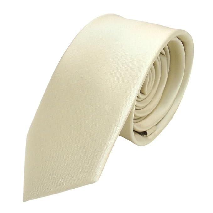 ohne Markenname TigerTie - corbata estrecha - beige amarillo ...