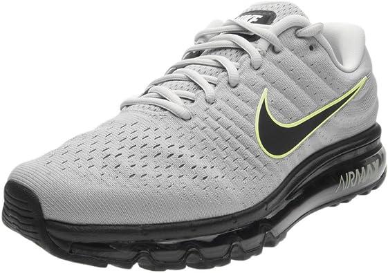 Sociología vóleibol Huerta  Nike Air Max 2017 Zapatillas para correr para hombre, Wolf Gris/Negro/Pure  Platinum, 11: Amazon.com.mx: Ropa, Zapatos y Accesorios