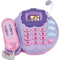 Disney Telefono Musical Princesita Sofia Model Kit, Color Rosa/Morado